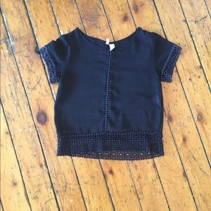 Beautiful vintage black shirt